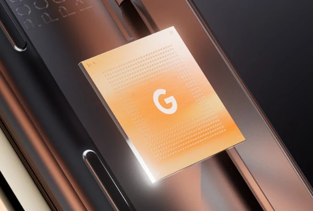 Puce Google Tensor téléphone Pixel 6 et Pixel 6 Pro