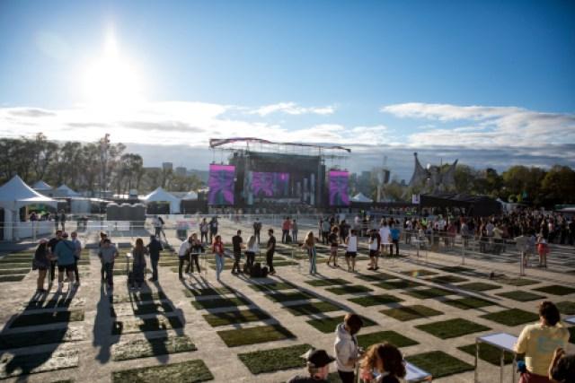 Voici à quoi ressemble les zones séparées au festival Osheaga 2021