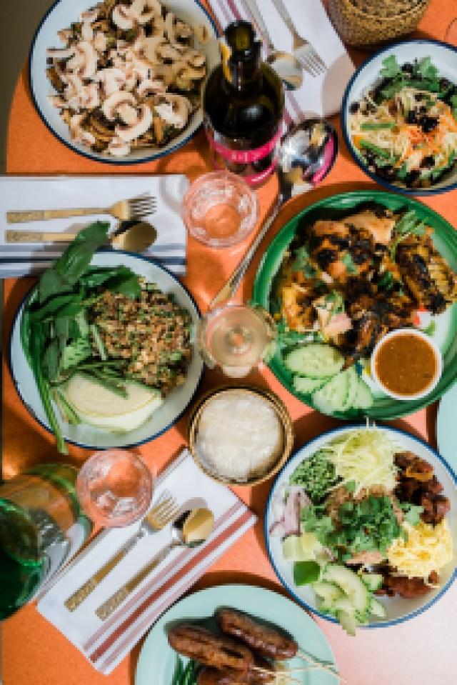 Des plats servis au restaurant Pichai