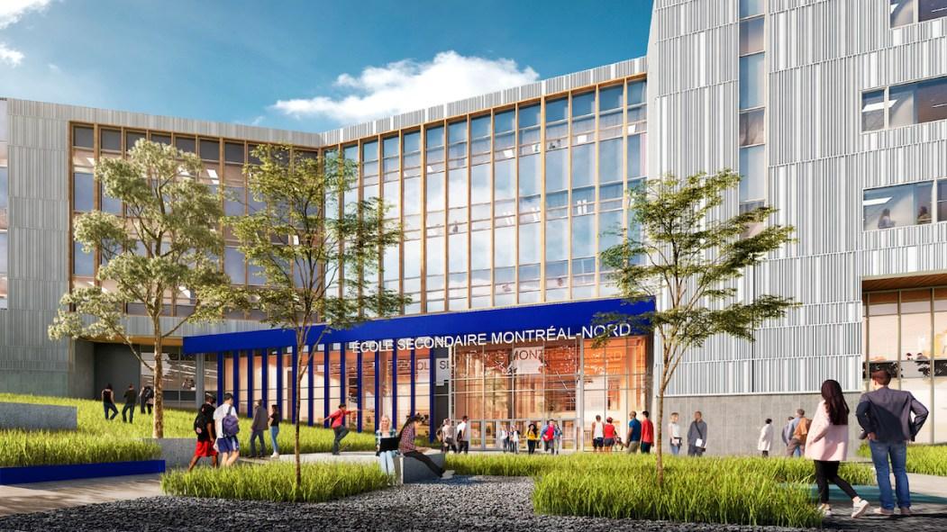 Deux nouvelles écoles secondaires pour Montréal-Nord et Anjou