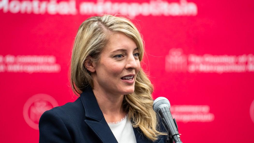 Mélanie Joly, députée réélue dans Ahuntsic-Cartierville