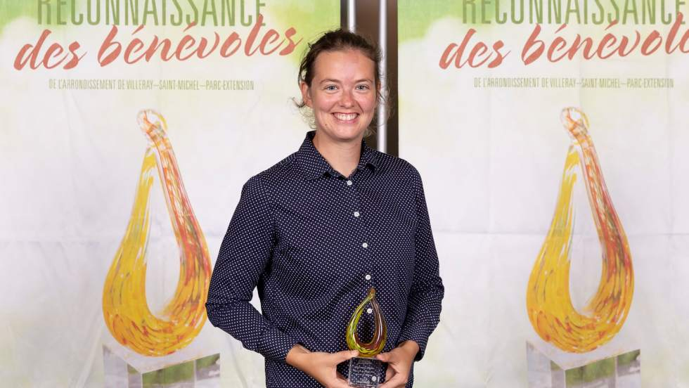 Alexandra Paillé Lauréate prix bénévole