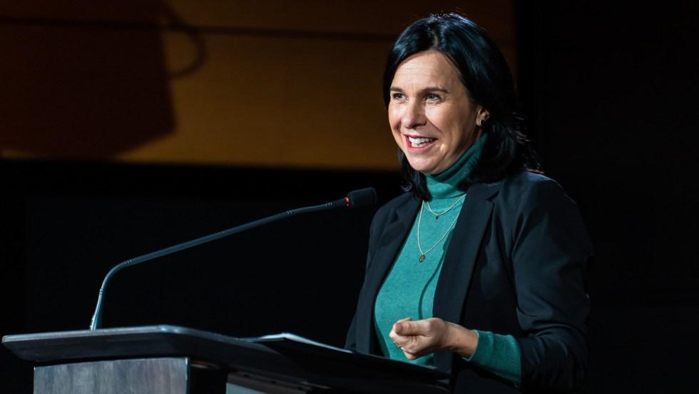 Valérie Plante, mairesse de Montréal et chef de Projet Montréal