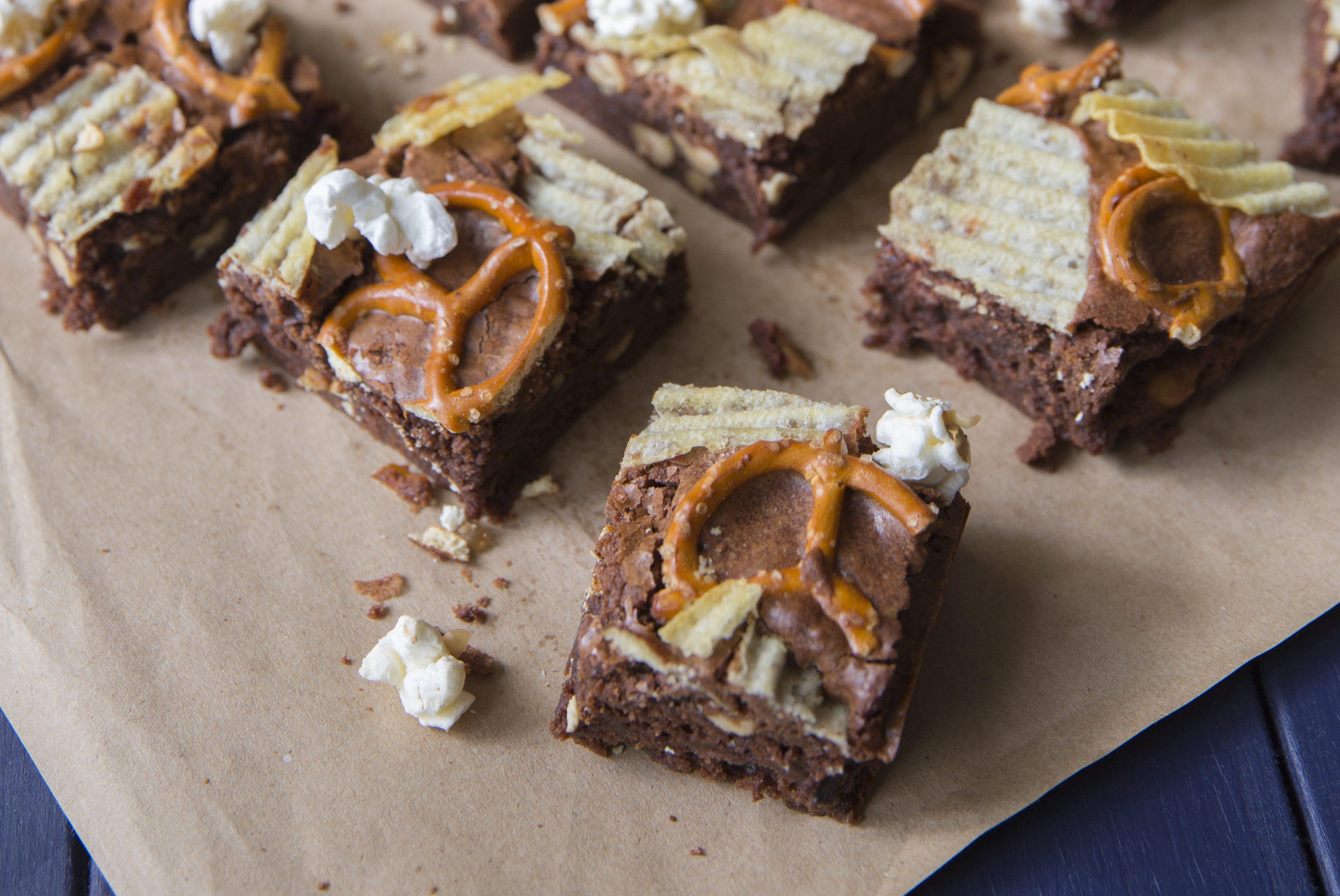 La recette de brownie ultra cochon de Juliette & Chocolat