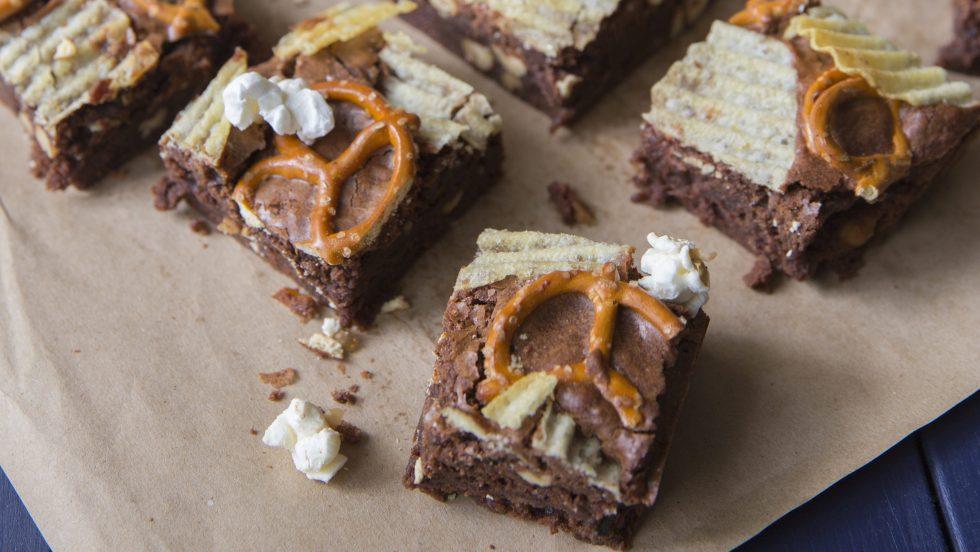 Brownie soirée cinéma par Juliette & Chocolat